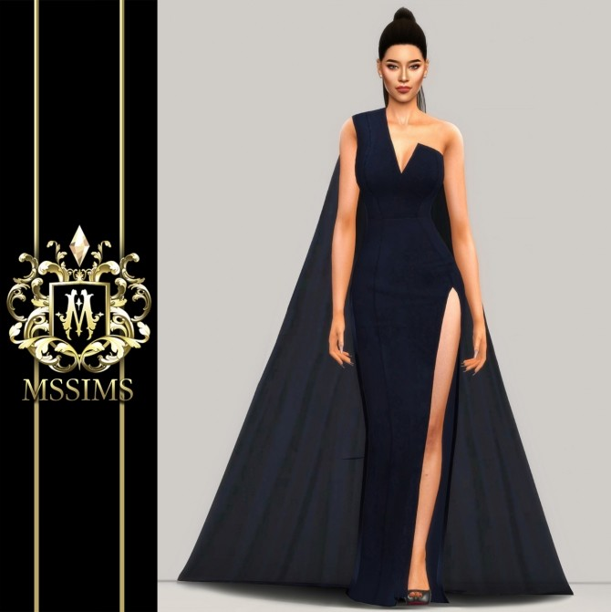 MIDNIGHT GOWN (P) at MSSIMS image 212 670x671 Sims 4 Updates