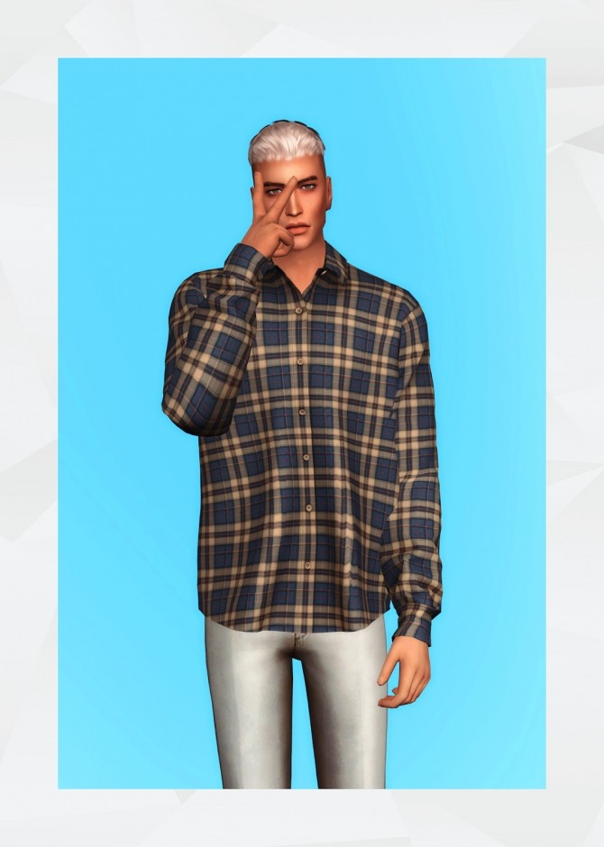 Flannel Shirt II at Gorilla image 2122 670x940 Sims 4 Updates