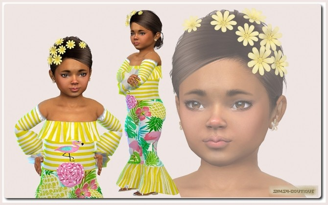 Suit for Toddler Girls TS4 at Sims4 Boutique image 2131 670x419 Sims 4 Updates