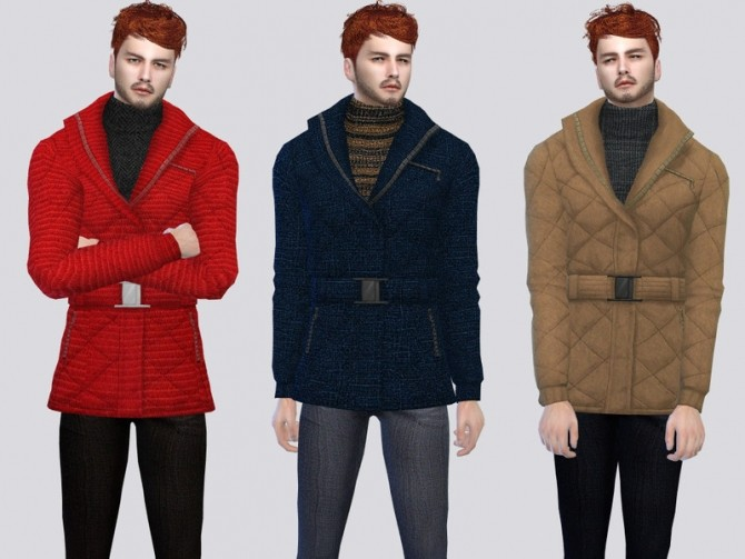 Dutch Cold Jacket by McLayneSims at TSR image 2138 670x503 Sims 4 Updates