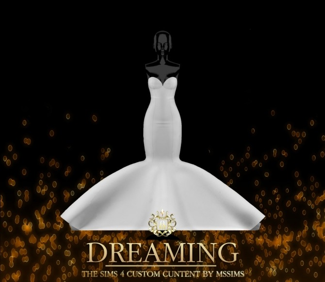 DREAMING GOWN (P) at MSSIMS image 214 670x580 Sims 4 Updates