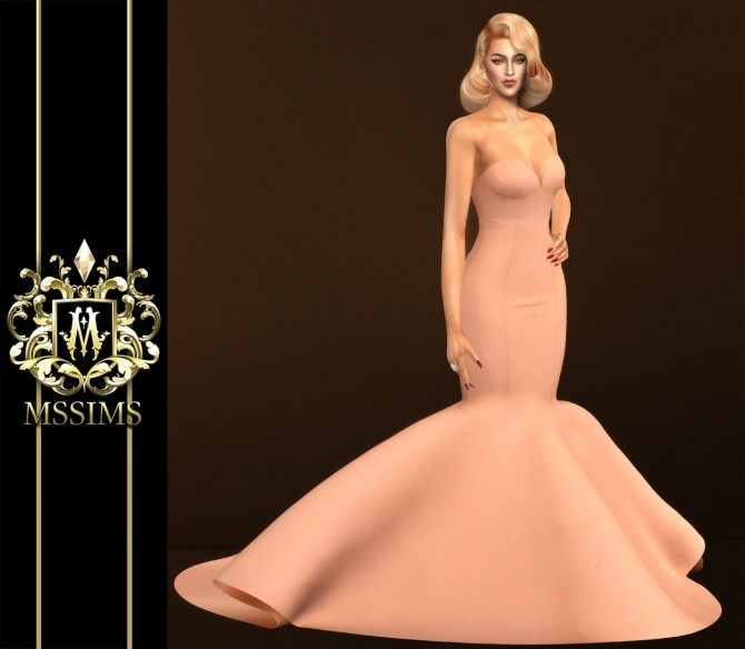 DREAMING GOWN (P) at MSSIMS image 215 670x584 Sims 4 Updates