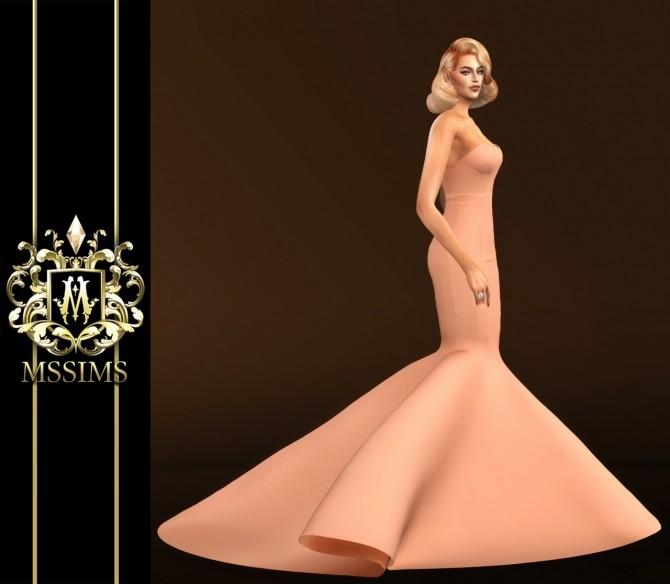 DREAMING GOWN (P) at MSSIMS image 216 670x584 Sims 4 Updates