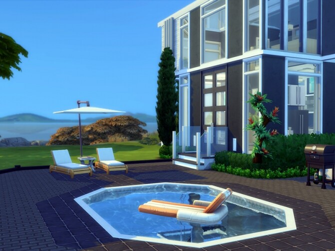 Modern Tiny Loft by simbunnyRT at TSR image 2170 670x503 Sims 4 Updates
