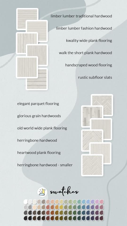Wood floor recolors at Luna Sims image 22110 Sims 4 Updates