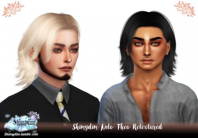 Anto Theo Hair Retexture Naturals + Unnaturals at Shimydim Sims image 2242 670x468 Sims 4 Updates