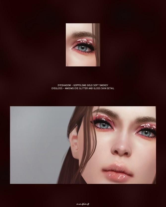 Sims 4 Eye Glitter and gloss at MMSIMS