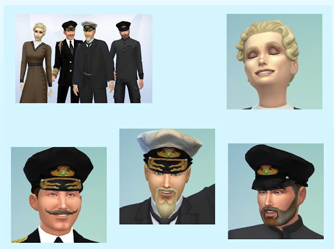 Sims 4 Crew of DS Harald part one at KyriaT's Sims 4 World