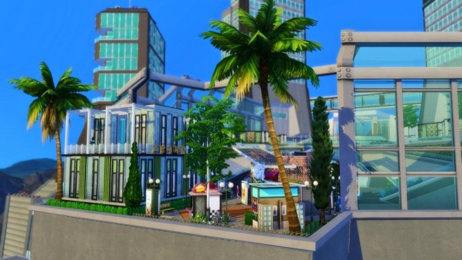 Sims 4 Chic Sports Complex by Catrollz at L'UniverSims