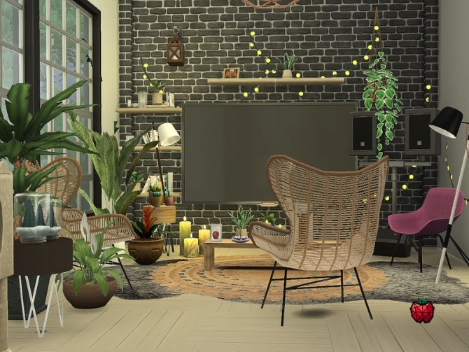Sims 4 Morgaine house by melapples at TSR