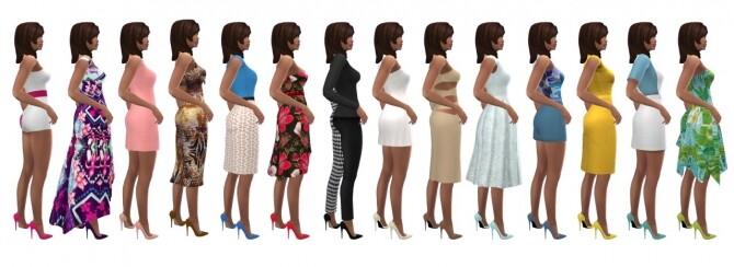 Sims 4 DALLASGIRL'S HEELED PUMPS at Sims4Sue