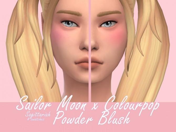 Sims 4 Powder Blush by Sagittariah at TSR