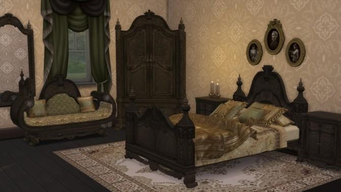 Sims 4 Venetian bedroom set at Alial Sim