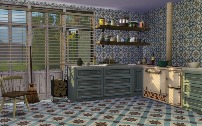 Traditional Cement Tiles at Alexpilgrim image 2452 670x418 Sims 4 Updates