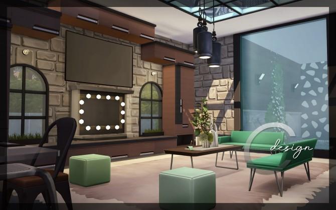 Modern Lake Estate at Cross Design image 2485 670x419 Sims 4 Updates