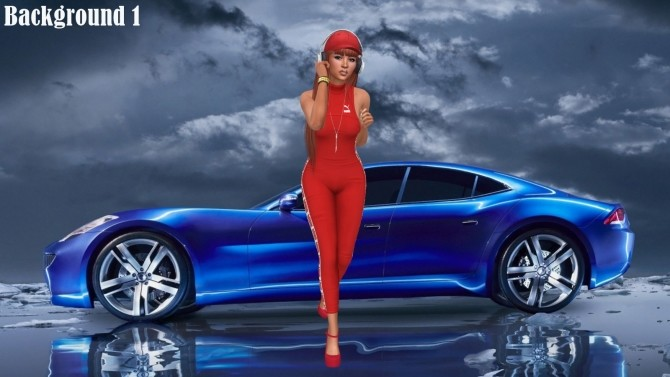 Sims 4 Fast Cars CAS Backgrounds at Annett's Sims 4 Welt