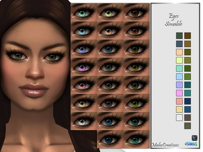 Eyes Simable by MahoCreations at TSR image 2523 670x503 Sims 4 Updates