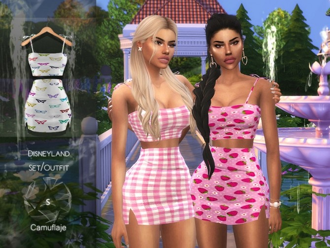 Outfit by Camuflaje at TSR image 2613 670x503 Sims 4 Updates
