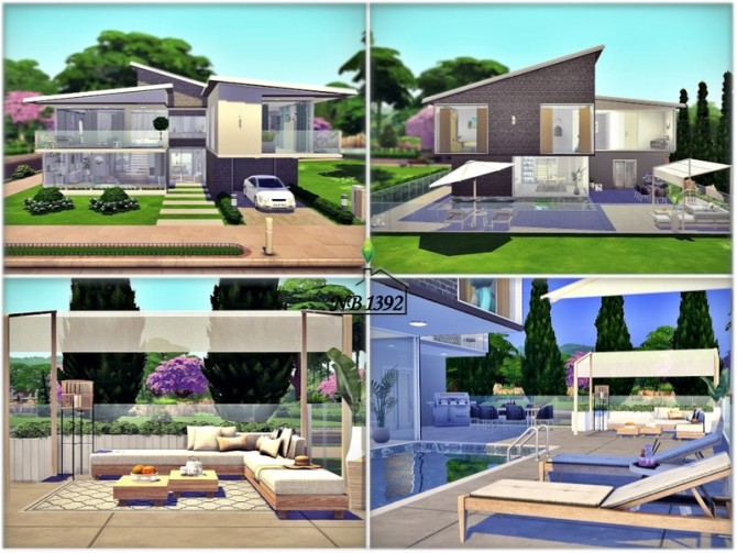 Sims 4 Erle House by nobody1392 at TSR