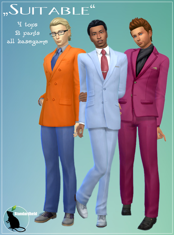 Sims 4 Suitable at Standardheld