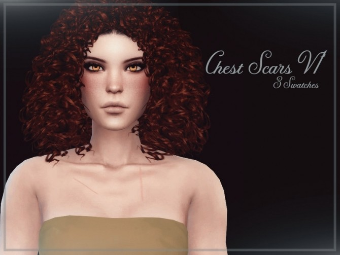 Chest Scars V1 by Reevaly at TSR image 276 670x503 Sims 4 Updates