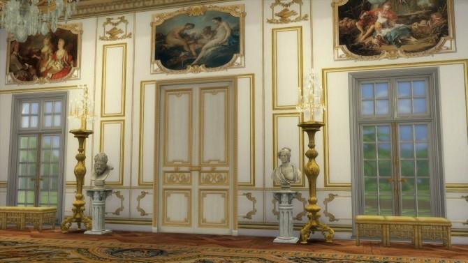 Sims 4 Royal Versailles Paneling Set at Regal Sims
