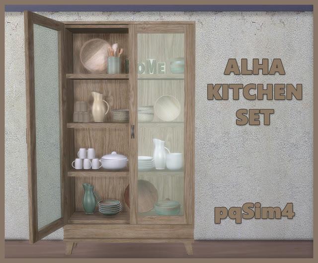 Sims 4 Alha Kitchen Set at pqSims4