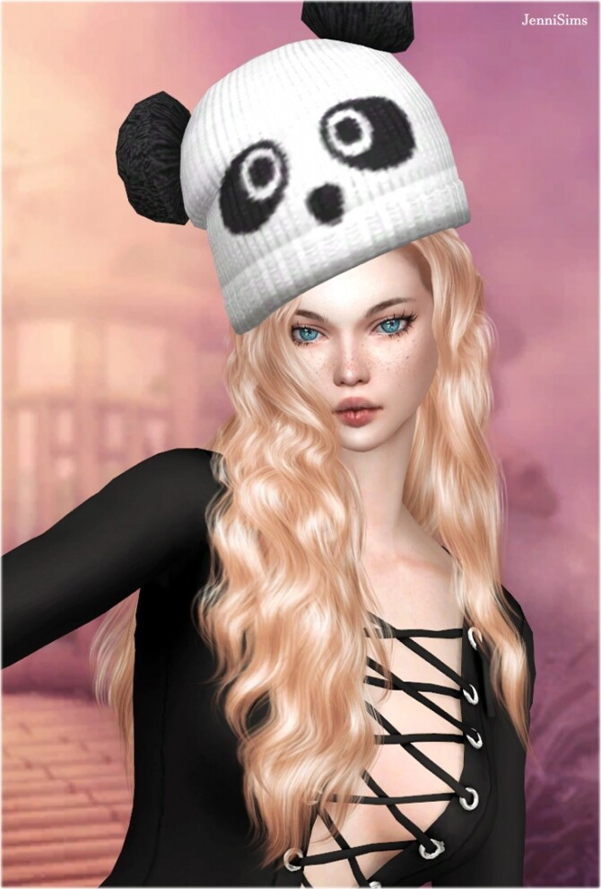 Sims 4 COLLECTION The lady with the hat at Jenni Sims