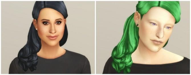 Sims 4 Catherine of England (Hair) at Rusty Nail