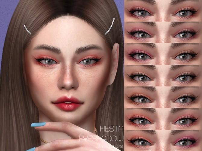 Sims 4 LMCS Fiesta Eyeshadow V9 by Lisaminicatsims at TSR