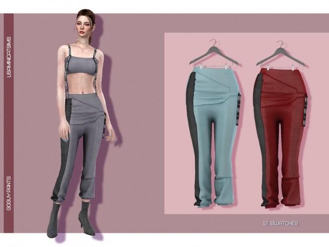 Sims 4 LMCS GoGuy Pants by Lisaminicatsims at TSR