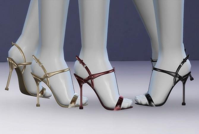 Sims 4 Slingback Sandals at MASIMS