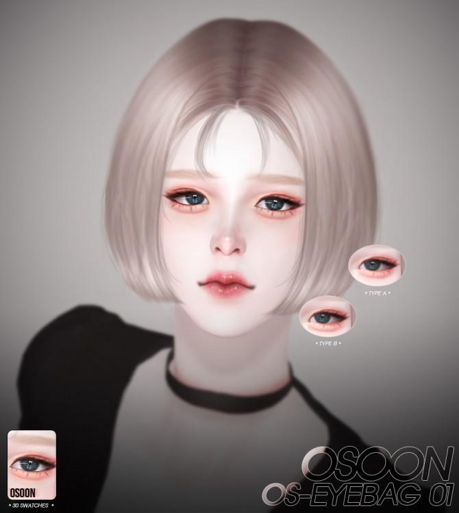 Sims 4 OS Eyebag 01 at Osoon