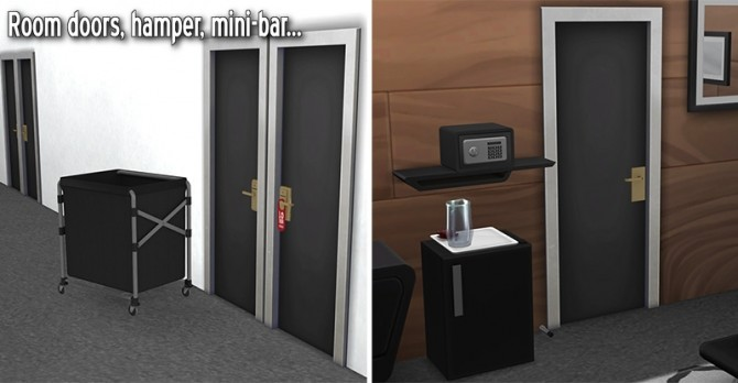 Sims 4 Hotel stuff & clutter by Sandy at Around the Sims 4