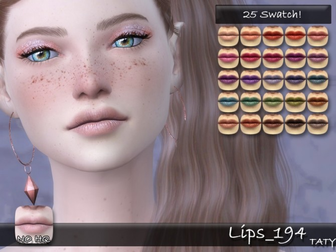 Sims 4 Lips 194 by tatygagg at TSR