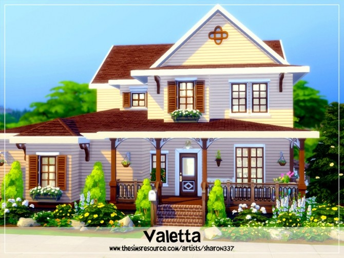 Valetta house Nocc by sharon337 at TSR image 3104 670x503 Sims 4 Updates