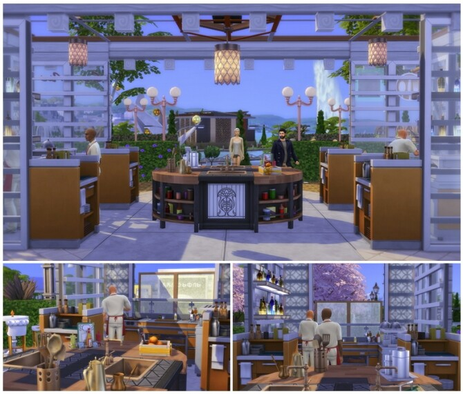 Flower Brunch (Restaurant) / Studio R PBP (Lounge) at Rusty Nail image 3351 670x571 Sims 4 Updates