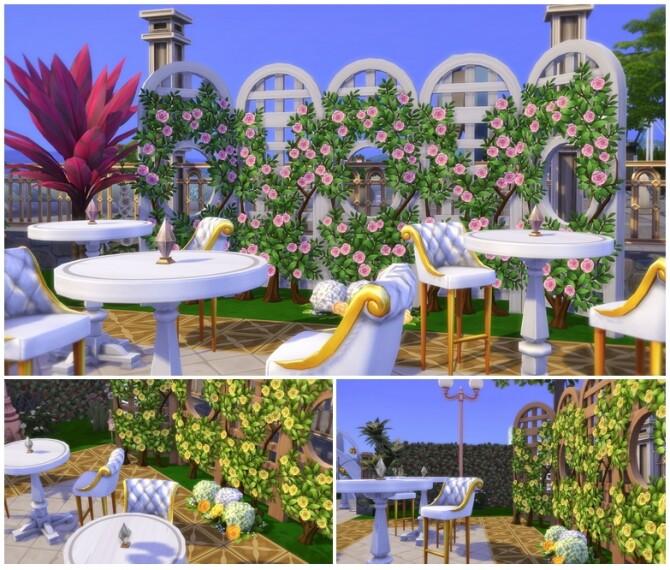 Flower Brunch (Restaurant) / Studio R PBP (Lounge) at Rusty Nail image 3361 670x570 Sims 4 Updates