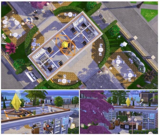 Flower Brunch (Restaurant) / Studio R PBP (Lounge) at Rusty Nail image 3371 670x570 Sims 4 Updates