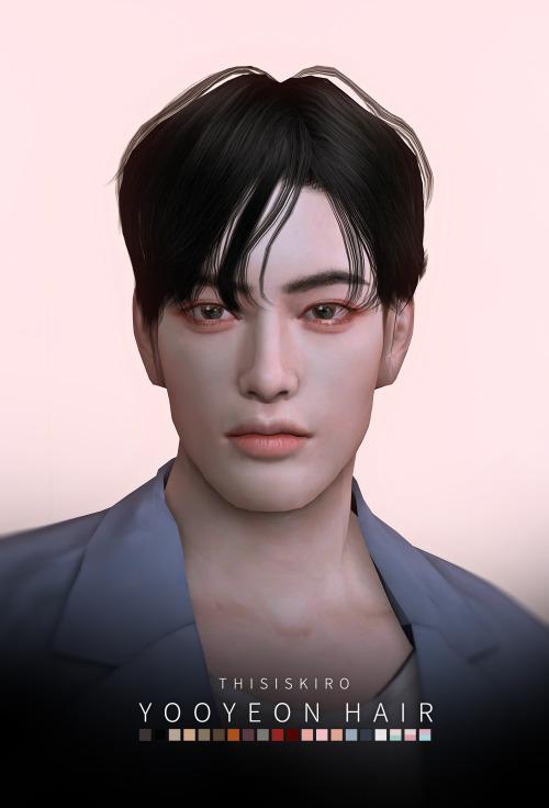 Sims 4 Yooyeon Hair at Kiro