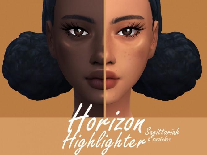 Sims 4 Horizon Highlighter by Sagittariah at TSR