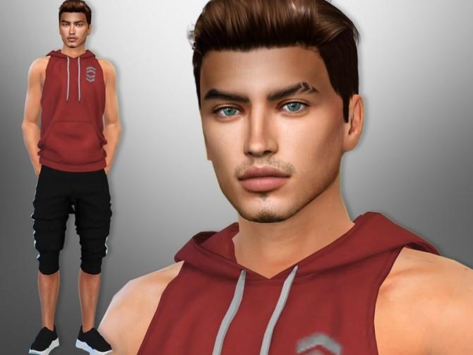 Sims 4 Thiago Duarte by divaka45 at TSR
