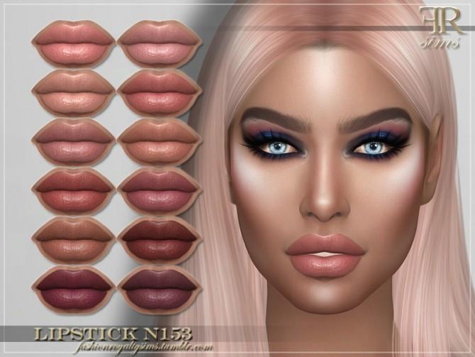 Sims 4 FRS Lipstick N153 by FashionRoyaltySims at TSR