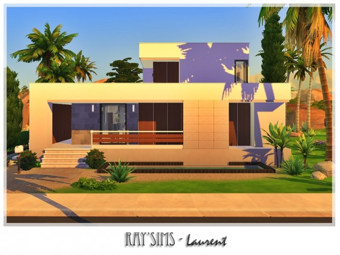Sims 4 Laurent house by Ray Sims at TSR