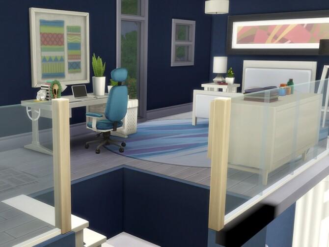 Modern Tiny Loft by simbunnyRT at TSR image 4106 670x503 Sims 4 Updates