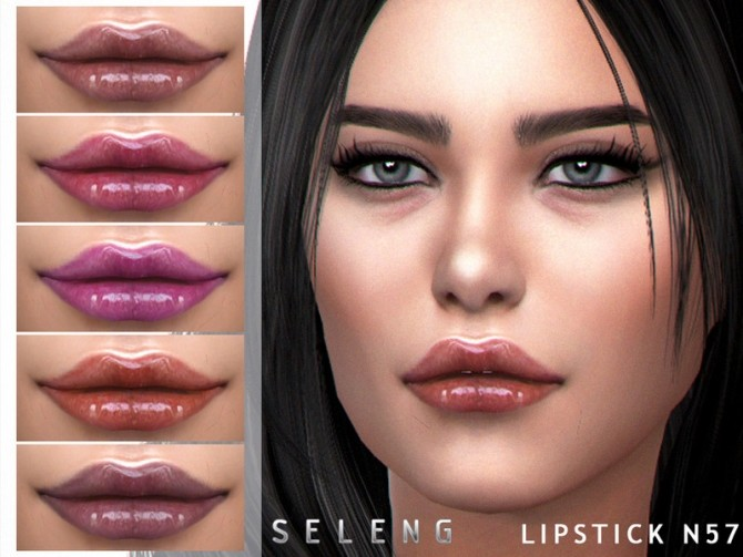 Lipstick N57 by Seleng at TSR image 445 670x503 Sims 4 Updates