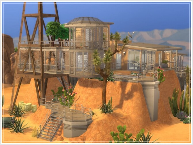 Sims 4 Hidden Haven house by philo at TSR