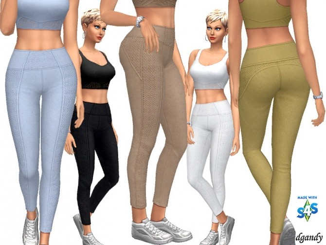 Sims 4 Pants 20200415 by dgandy at TSR