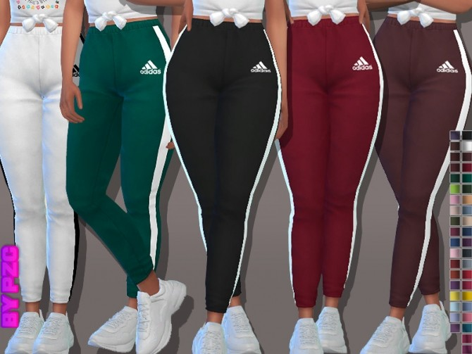 University Joggers 0390970 by Pinkzombiecupcakes at TSR image 4621 670x503 Sims 4 Updates