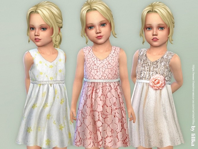 Toddler Dresses Collection P134 by lillka at TSR image 4721 670x503 Sims 4 Updates